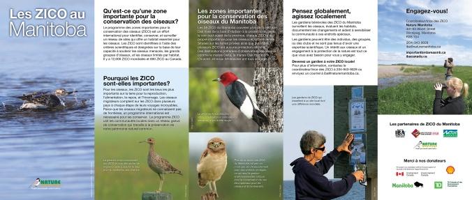 IBA Manitoba Brochure French