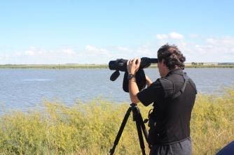 Christian Artuso, Whitewater Lake. Photo by Tim Poole