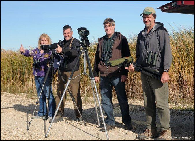 From left to right: Donna, Ray, John H and John Weier. Photo copyright Garry Budyk