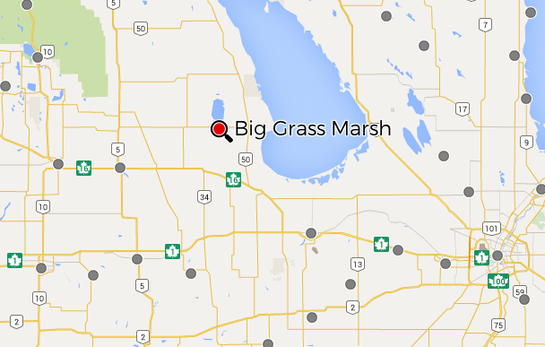 Big Grass Marsh Map