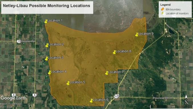 Netley-Libau October 2017 monitoring locations - future