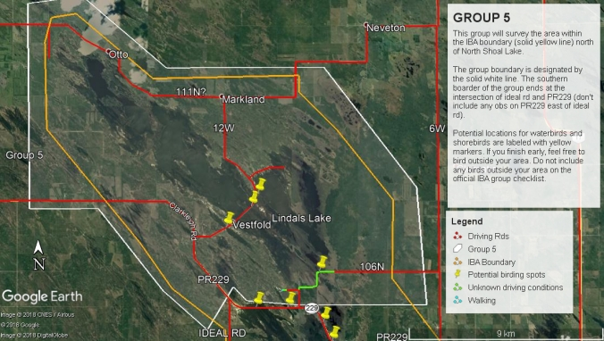 Group 5 map overview