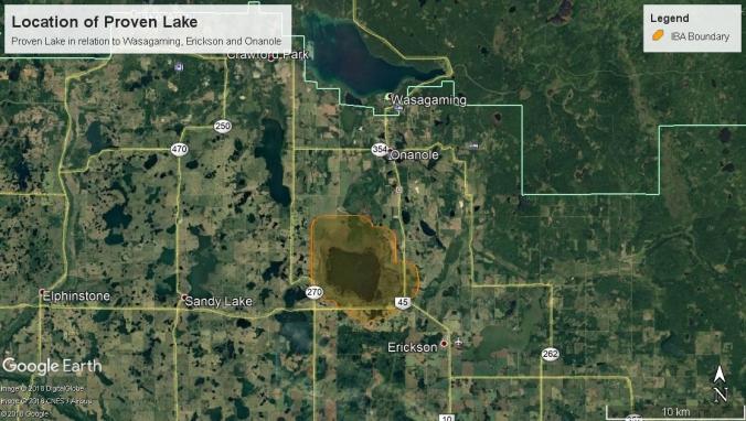 Proven Lake Location