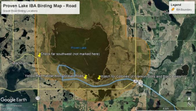 Proven Lake Road Map